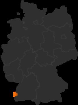 Breisach Am Rhein An Der Französischen Grenze Baden Württemberg