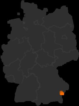 Simbach Am Inn An Der Bayerisch österreichischen Grenze Bayern