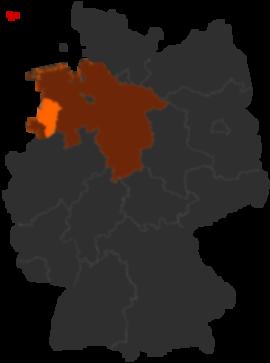 Emsland Karte.Landkreis Emsland In Niedersachsen Alle Infos Beim Deutschland