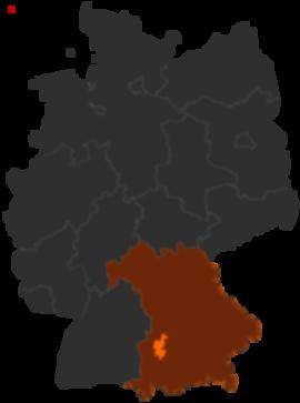 Landkreis Augsburg Karte.Landkreis Augsburg In Bayern Alle Infos Beim Deutschland