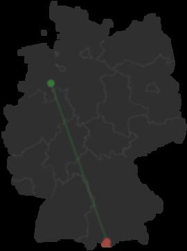Fussgangerzone Oldenburg Karte.Wie Kommt Man Von Lohne Nach Garmisch Partenkirchen