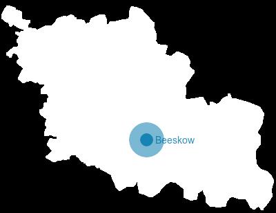 Spree Karte.Brandenburg Karte Landkreis Oder Spree