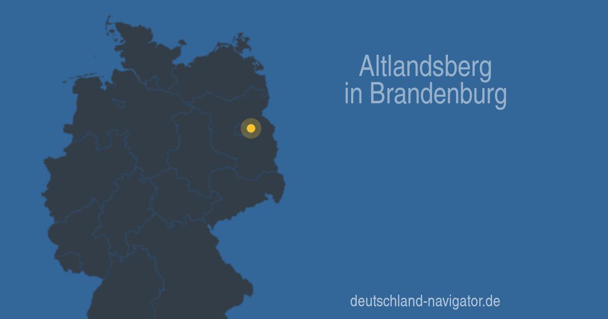 15345 Altlandsberg In Brandenburg Alle Infos Karte Wetter Und