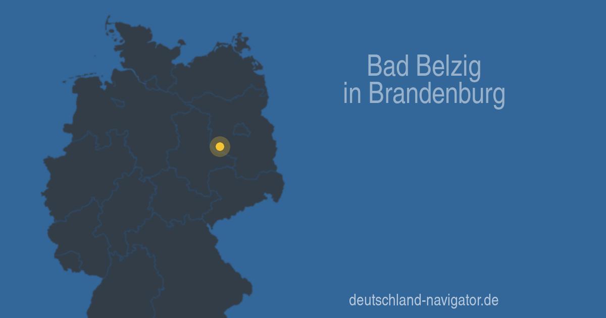 14806 Bad Belzig In Brandenburg Alle Infos Karte Wetter Und