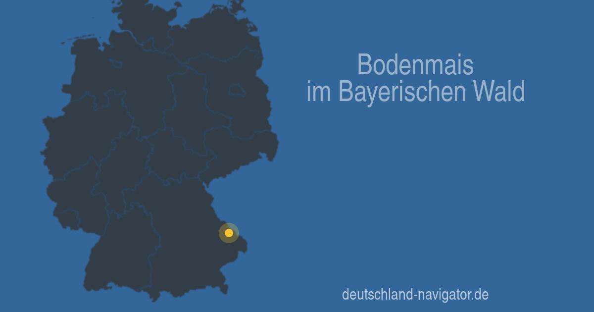 Bodenmais Im Bayerischen Wald Bayern Stadtplan Wetter