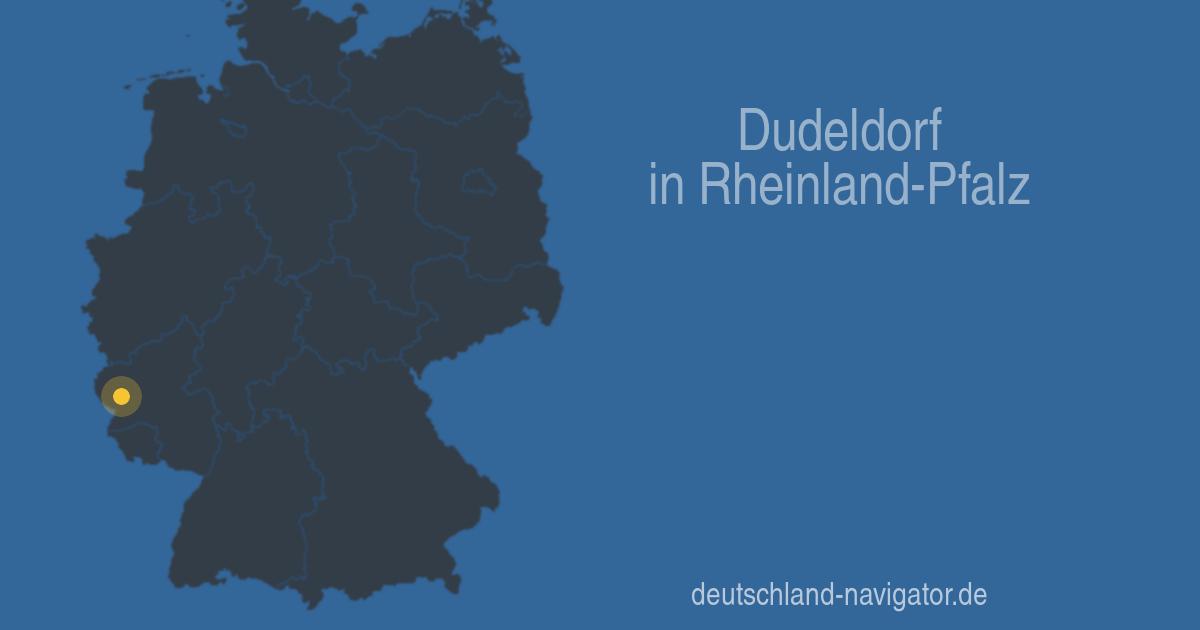 54647 Dudeldorf in Rheinland-Pfalz - Alle Infos ... Karte, Wetter ...