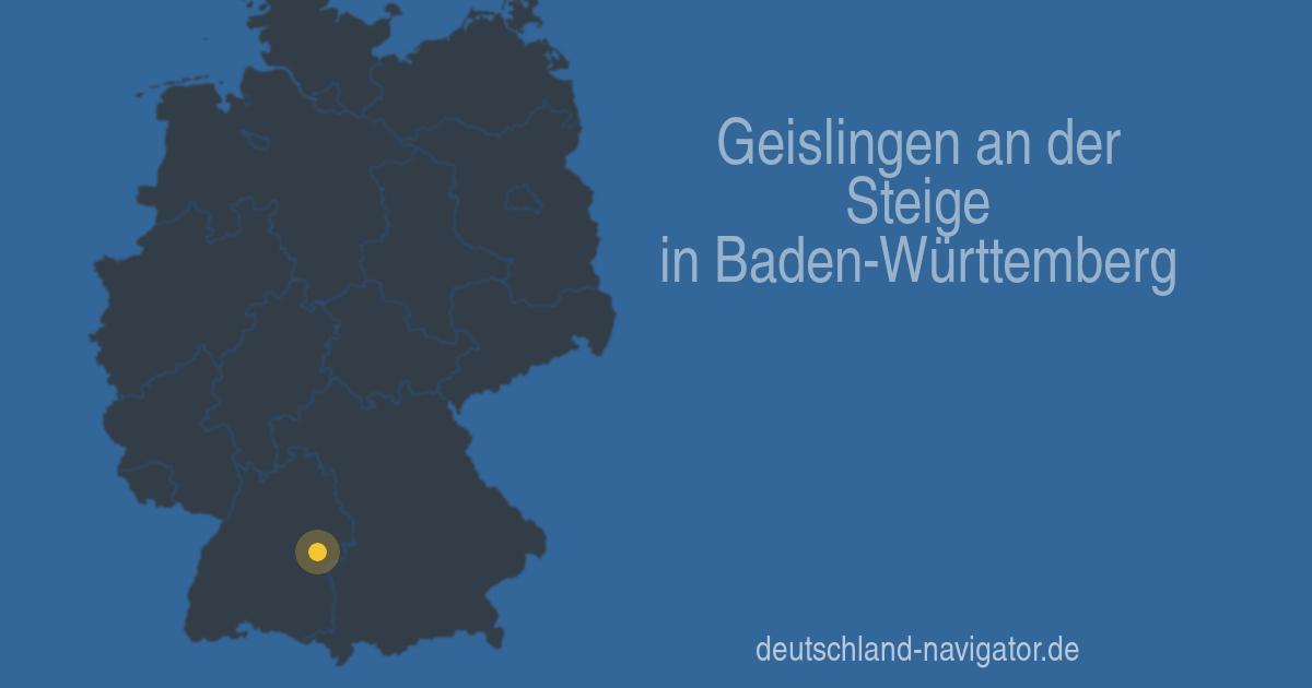 73312 Geislingen An Der Steige In Baden Württemberg Alle Infos