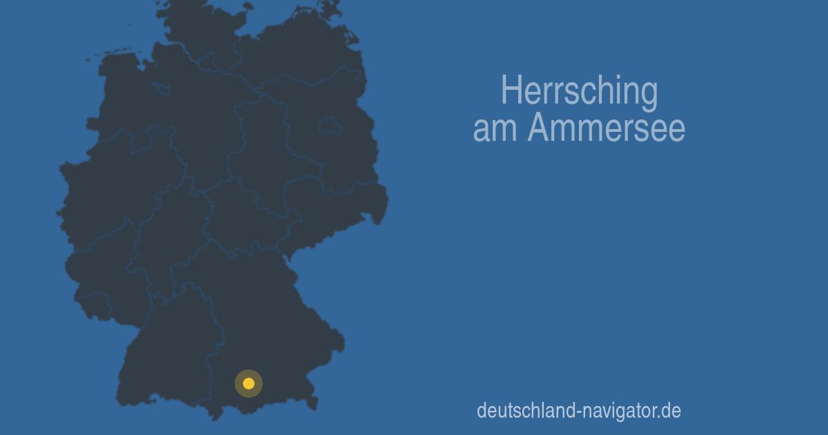 Herrsching Am Ammersee Bayern Stadtplan Wetter Routenplaner
