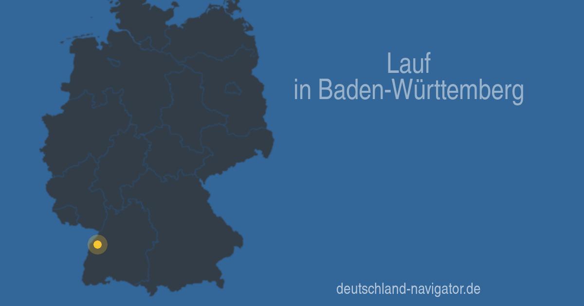 Wetter Lauf Baden