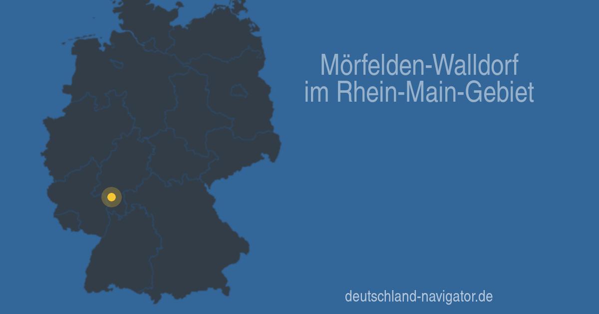 Mörfelden Walldorf Im Rhein Main Gebiet Hessen Stadtplan Wetter
