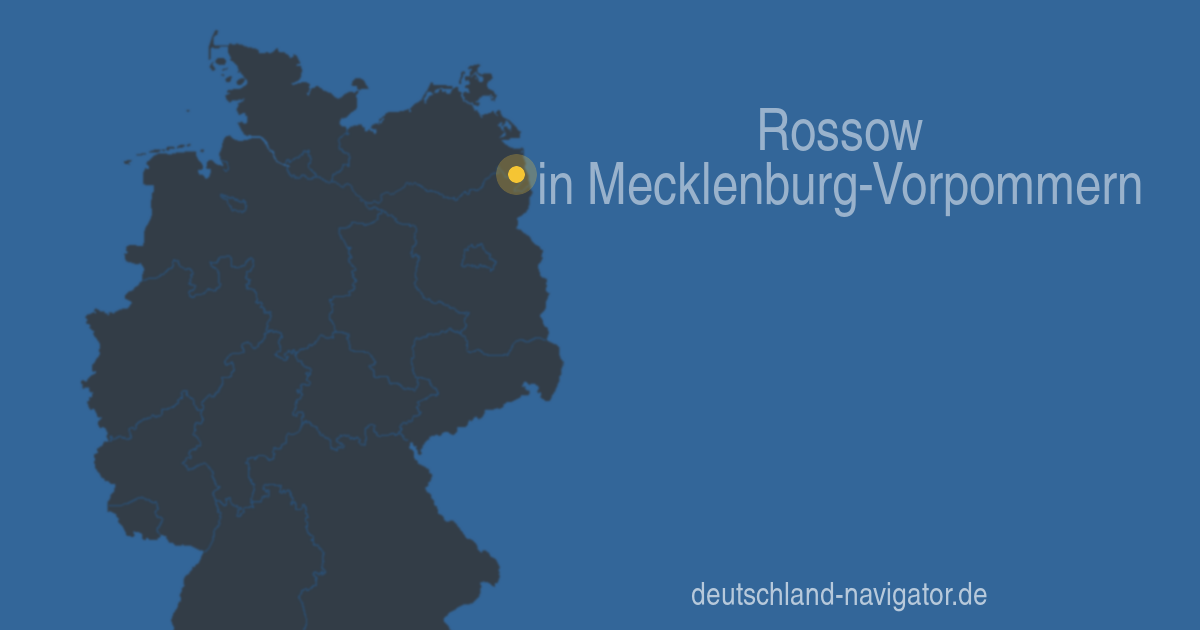 17322 rossow in mecklenburg vorpommern alle infos. Black Bedroom Furniture Sets. Home Design Ideas