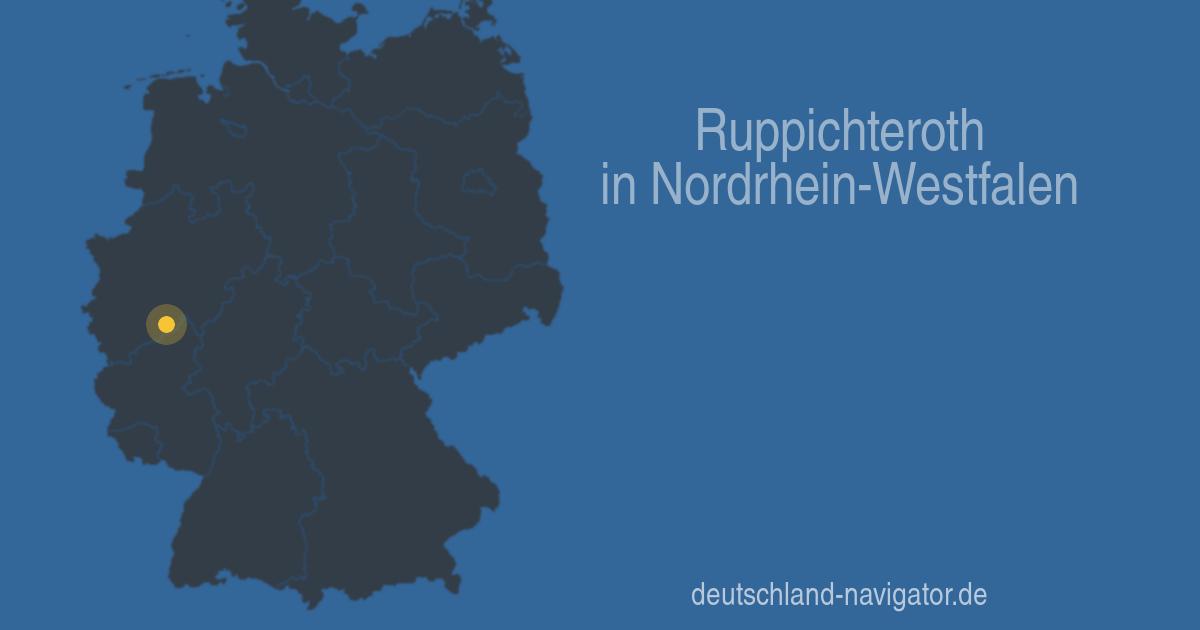 Wettervorhersage Ruppichteroth
