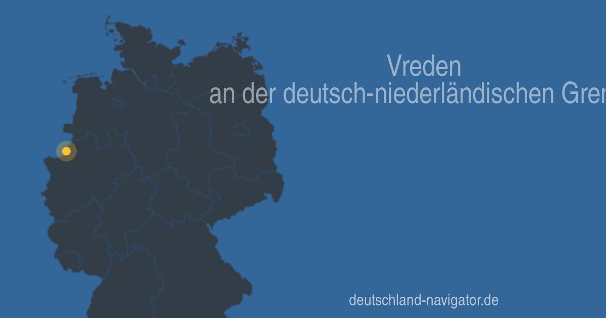 Vreden An Der Grenze Zu Den Niederlanden Nordrhein