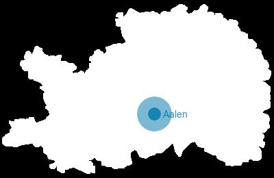 Ostalbkreis Karte.Baden Württemberg Karte Ostalbkreis